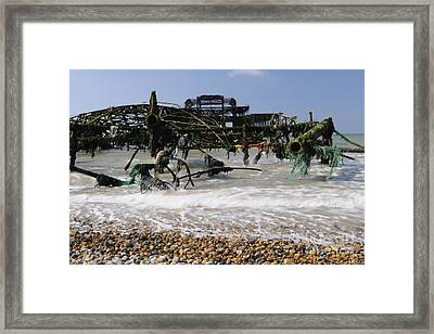 In Pieces Framed Print by Stephen Smith