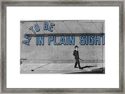 In Plain Sight Framed Print by Juli Scalzi