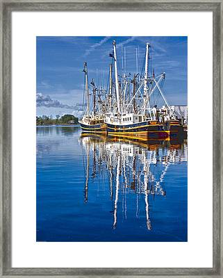 In Port Framed Print by Ches Black