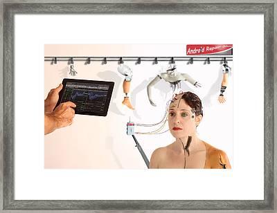 In Repair Framed Print by Eyal Bussiba