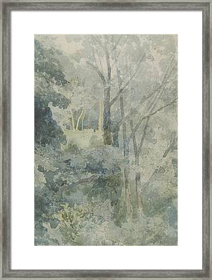 In Rokeby Park Framed Print by John Sell Cotman