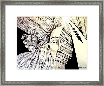In Search Of The Soul Framed Print by Paulo Zerbato