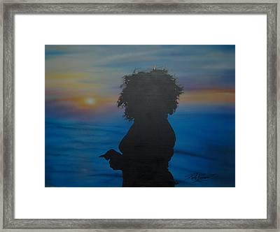 In Take Framed Print by Rick Primeau