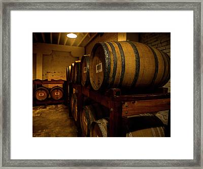 In The Cellar Framed Print by Jon Glaser