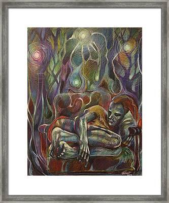 In The Chair Framed Print by Varya Vinogradova