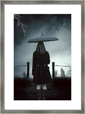 In The Dark Framed Print by Joana Kruse