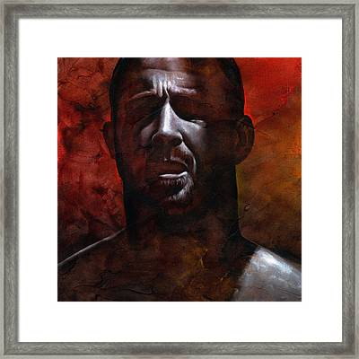 In The Darkness 1 Framed Print by Chris  Lopez