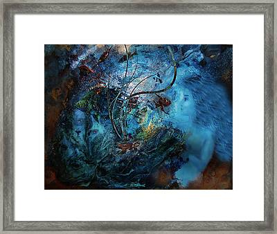 In The Deep Six Framed Print by Patricia Motley