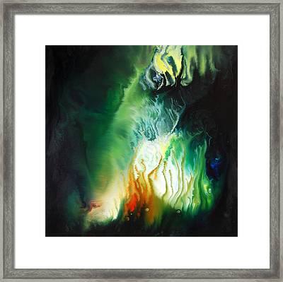 In The Depths Framed Print by Dion Kurczek