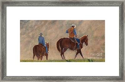 In The Dust Framed Print by Danielle Smith