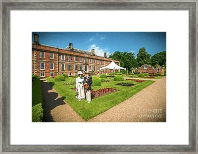 In The Garden Framed Print by Adrian Evans