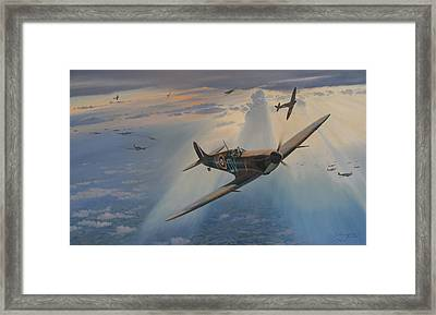 In The Hands Of A Master Framed Print by Steven Heyen