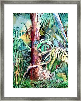 In The Jungle Framed Print by Mindy Newman