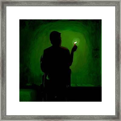 In The Light Framed Print by Keshava Shukla
