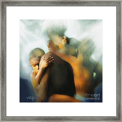 In The Living Years Framed Print by Bob Salo