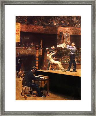 In The Mid-time 1896 Framed Print by Mountain Dreams
