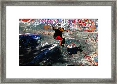 In The Moment Framed Print by David Lee Thompson