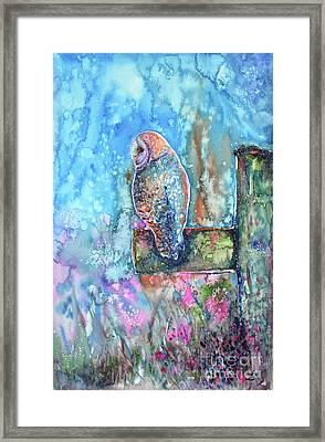 In The Morning Haze Framed Print by Zaira Dzhaubaeva