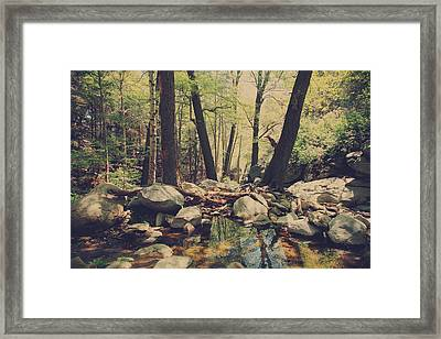 In The Safety Of Your Love Framed Print by Laurie Search