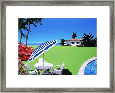 In The Shade Framed Print by David Holmes