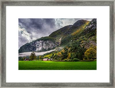 In The Valley Framed Print by Dmytro Korol
