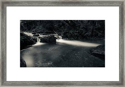 in the valley of Oker, Harz Framed Print by Andreas Levi