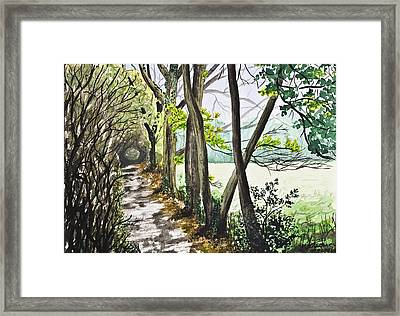 In The Woods Framed Print by Svetlana Sewell