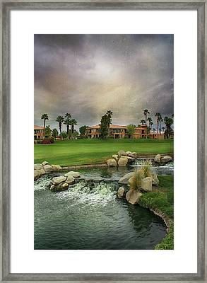 In Your Hour Of Darkness Framed Print by Laurie Search