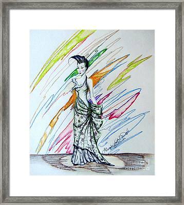 Inamorata Framed Print by Georgia Doyle  brushhandle