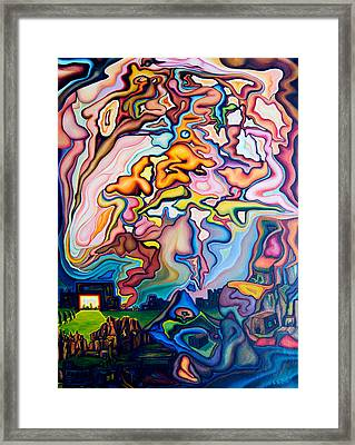 Incarnation Framed Print by Aswell Rowe