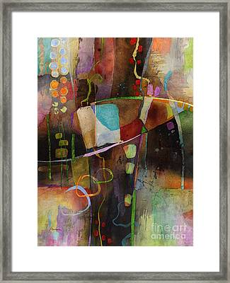 Incipient Bloom Framed Print by Hailey E Herrera