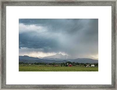 Incoming Framed Print by James BO Insogna