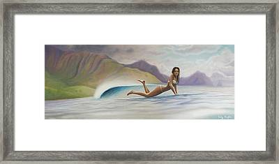 Indah Framed Print by Kelly Meagher