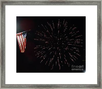 Independence Day Framed Print by Gina Sullivan
