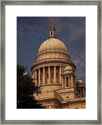 Independent Man Framed Print by Lourry Legarde