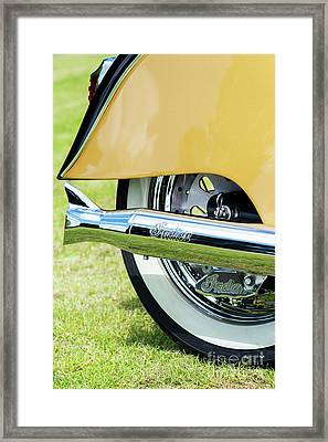 Indian Chief Centennial Abstract Framed Print by Tim Gainey