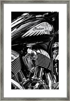Indian Chieftain Framed Print by Tim Gainey