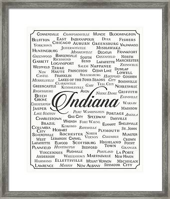Indiana Framed Print by Finlay McNevin