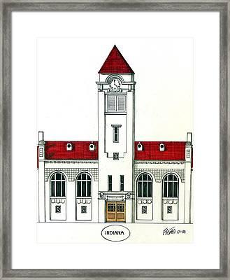 Indiana Framed Print by Frederic Kohli