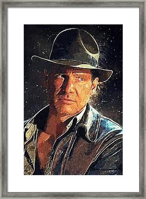 Indiana Jones Framed Print by Taylan Soyturk
