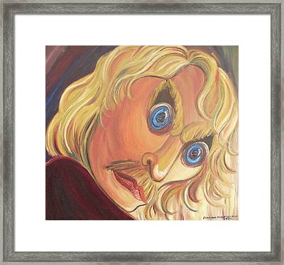 Indignation Framed Print by Suzanne  Marie Leclair