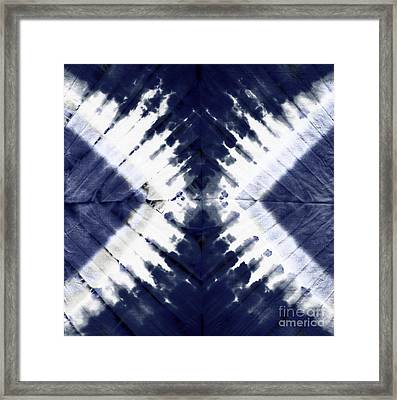 Indigo II Framed Print by Mindy Sommers
