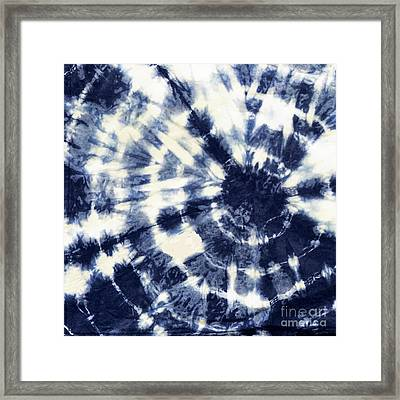 Indigo Iv Framed Print by Mindy Sommers