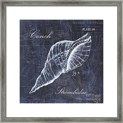 Indigo Verde Mar 3 Framed Print by Debbie DeWitt
