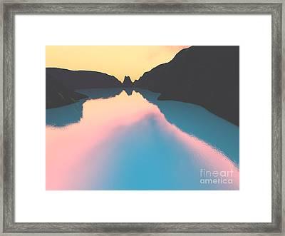 Indonesian Crater Lakes II Framed Print by Gaspar Avila