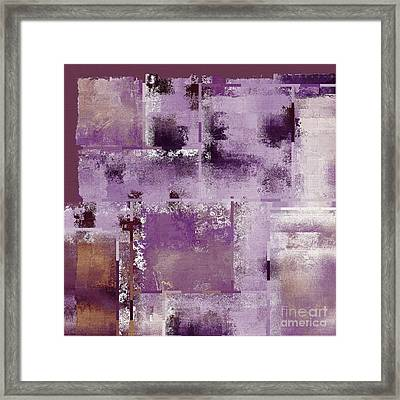 Industrial Abstract - 18t Framed Print by Variance Collections