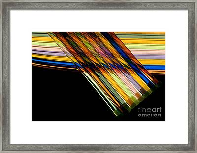 Industrial Art Framed Print by Jerry McElroy