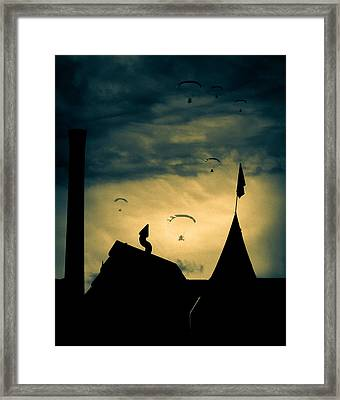 Industrial Carnival Framed Print by Bob Orsillo