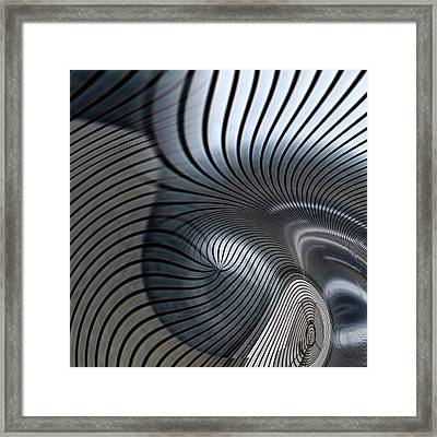 Industrial Dimension 2 Framed Print by Philip Openshaw