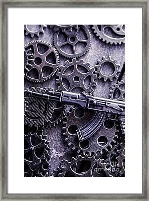 Industrial Firearms  Framed Print by Jorgo Photography - Wall Art Gallery